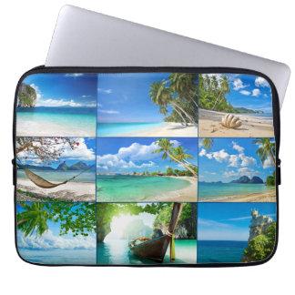 Dream beaches computer sleeve