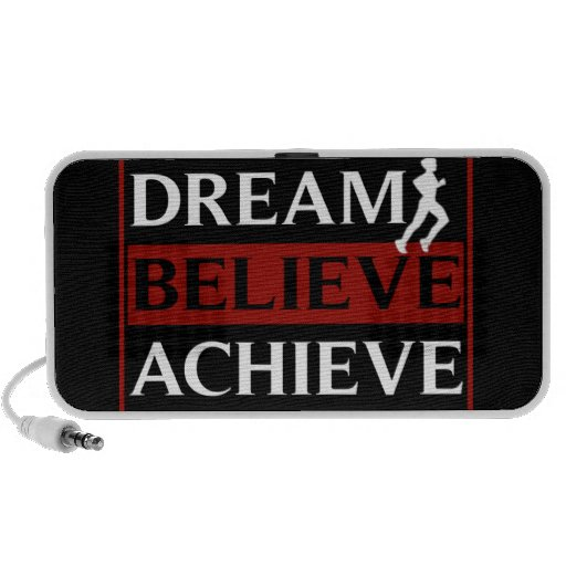 Dream Believe Achieve Doodle Speaker