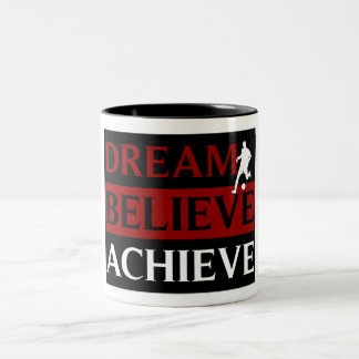 Dream Believe Achieve Soccer Mug