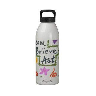 Dream Believe Act Drinking Bottle