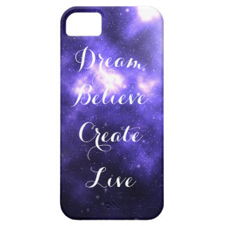 Dream Believe Create Live iPhone SE/5/5s Case