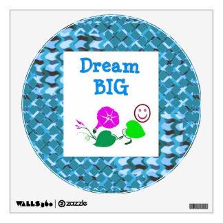 DREAM BIG ART ABSTRACTS Sparkle PRINT Wall Sticker