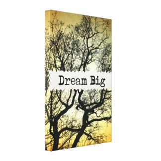 Dream Big Gallery Wrap Canvas