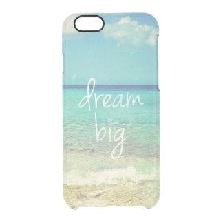 Dream big clear iPhone 6/6S case