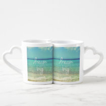 dream, big, quote, dream big, motivational, funny, cool, travel, inspirational, lover's mug, be yourself, life, cute, dreams, pattern, achievement, quotes, spiritual, fun, dreaming, lover's, mug, [[missing key: type_photousa_loversmu]] with custom graphic design