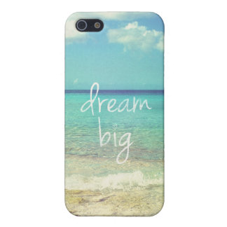 Dream big cover for iPhone SE/5/5s