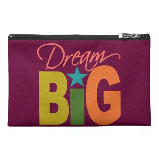 Dream BIG custom accessory bag