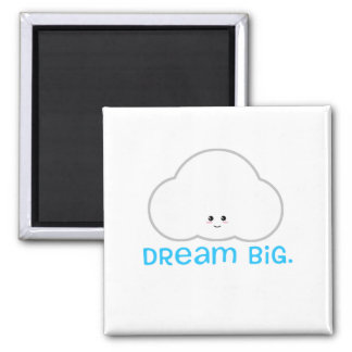 Dream Big Cute Kawaii Cloud Magnet