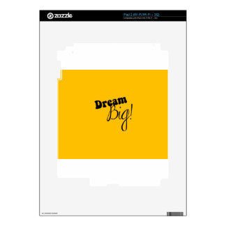 dream big decal for iPad 2
