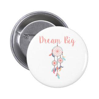 Dream Big Dreamcatcher Dream Catcher in Peach Button