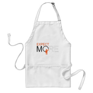 dream big - expect more adult apron