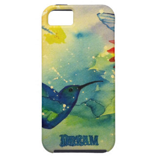 Dream Big! Hummingbird Watercolor Painting iPhone SE/5/5s Case