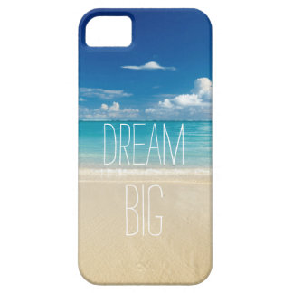 Dream Big - Inspirational and Motivational Quote iPhone SE/5/5s Case