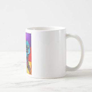 Dream big inspirational collage coffee mug