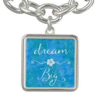 Dream Big Inspirational Happiness Quote Bracelets