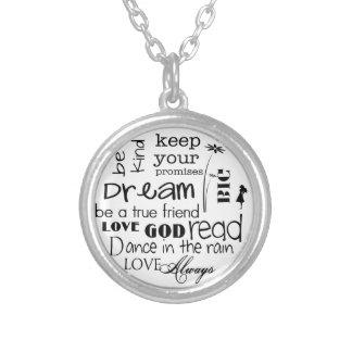 Dream Big Inspirational Necklace