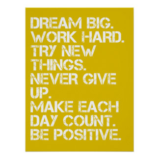 Dream Big - Inspirational Posters