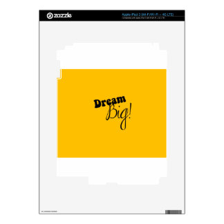 dream big iPad 3 decals