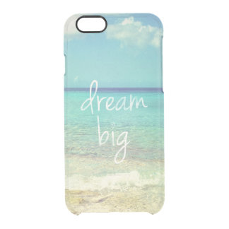 Dream big uncommon clearly™ deflector iPhone 6 case