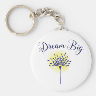 Dream Big key chain