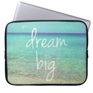 Dream big laptop sleeve