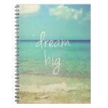 Dream big note book