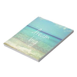 Dream big note pad
