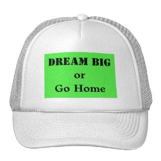 Dream Big or Go Home Trucker Hat
