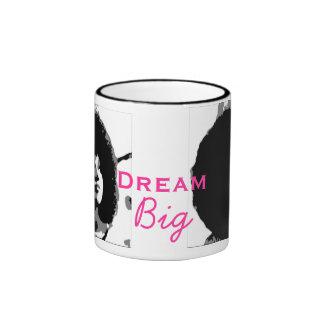 Dream Big - Pink Ringer Mug