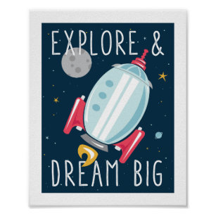 Gentil Dream Big Poster