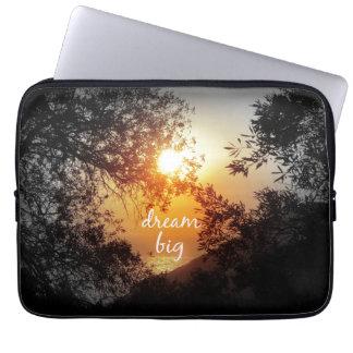 Dream Big Quote Laptop Sleeve