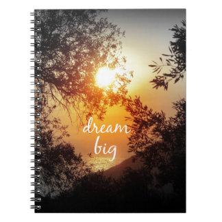 Dream Big Quote Spiral Notebook