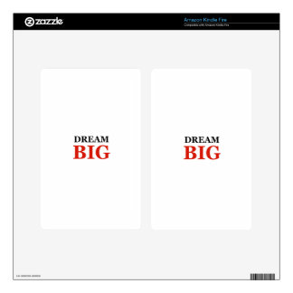 Dream Big Skin For Kindle Fire