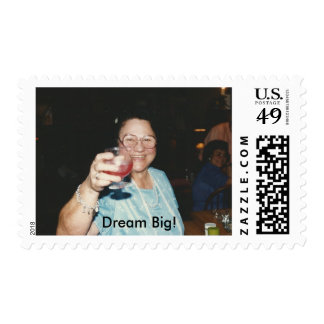 Dream Big Stamp with Mrs. Tunno