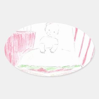 Dream Big Oval Sticker