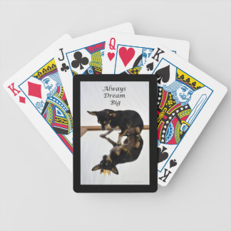 Dream Big - The King Bicycle Playing Cards