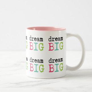 Dream Big Two-Tone Coffee Mug