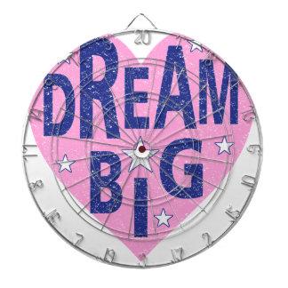 Dream big vintage heart dartboard