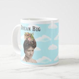 Dream Big Vintage Photo Collage Jumbo Mugs