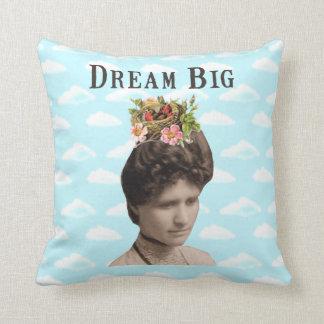 Dream Big Vintage Photo Collage Pillows