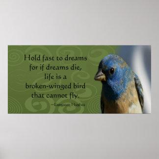 Dream Bird Collosal Poster