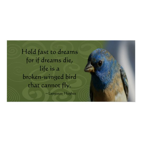 Dream Bird Collosal Poster