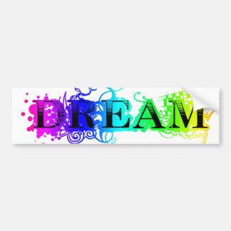 Dream Car Bumper Sticker