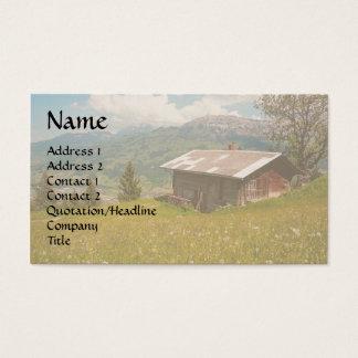 Dream Cabin Wildflower Meadow House Business Card