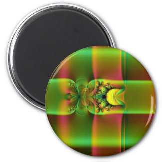 dream candy green 2 inch round magnet