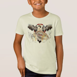 Dream Catcher and Feathers and Hawk Face Shirts