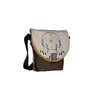 Dream Catcher and Mandala  COURIER BAG