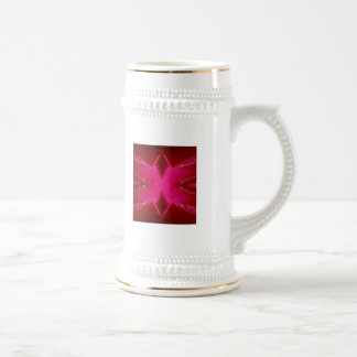 Dream Catcher Art - Rose Petal Graphics Beer Stein