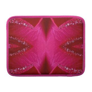 Dream Catcher Art - Rose Petal Graphics MacBook Air Sleeves