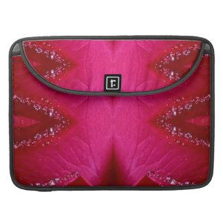 Dream Catcher Art - Rose Petal Graphics MacBook Pro Sleeve